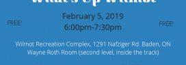 What's Up Wilmot Feb workshop